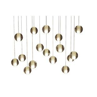 Orren Ellis Mccoin 16-Light Suspended LED Pendant