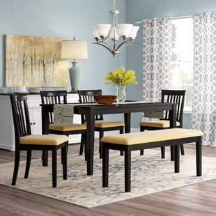 Oneill 6 Piece Upholstered Dining Set by Andover Mills