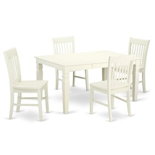 Pennington 5 Piece Dining Set by Beachcrest Home #1