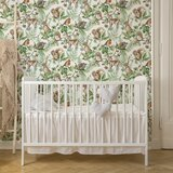 Church Strett Woodland Animals 33' L x 20.5 W Wallpaper Roll by Rosalind Wheeler