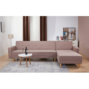 Shop Lawrence Hill Convertible Reversible Reclining  Sectional by Union Rustic