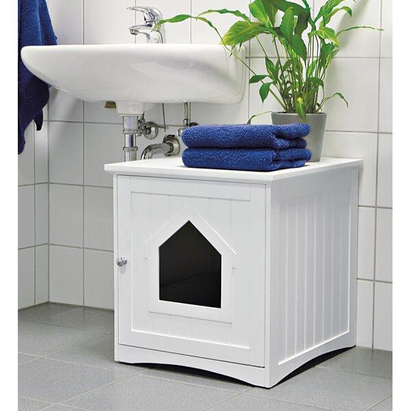 Delightful Archie U0026 Oscar Freda Cat Home Litter Box Enclosure U0026 Reviews | Wayfair