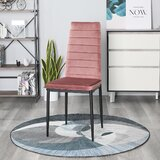 Taurean Upholstered Side Chair (Set of 4) by Wrought Studio™