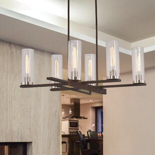 Williston Forge Croxton 6-Light Shaded Chandelier