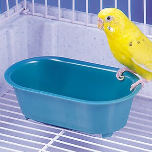 Penn Plax Plastic Birdbath