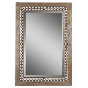Global Inspired Metal Wall Mirror
