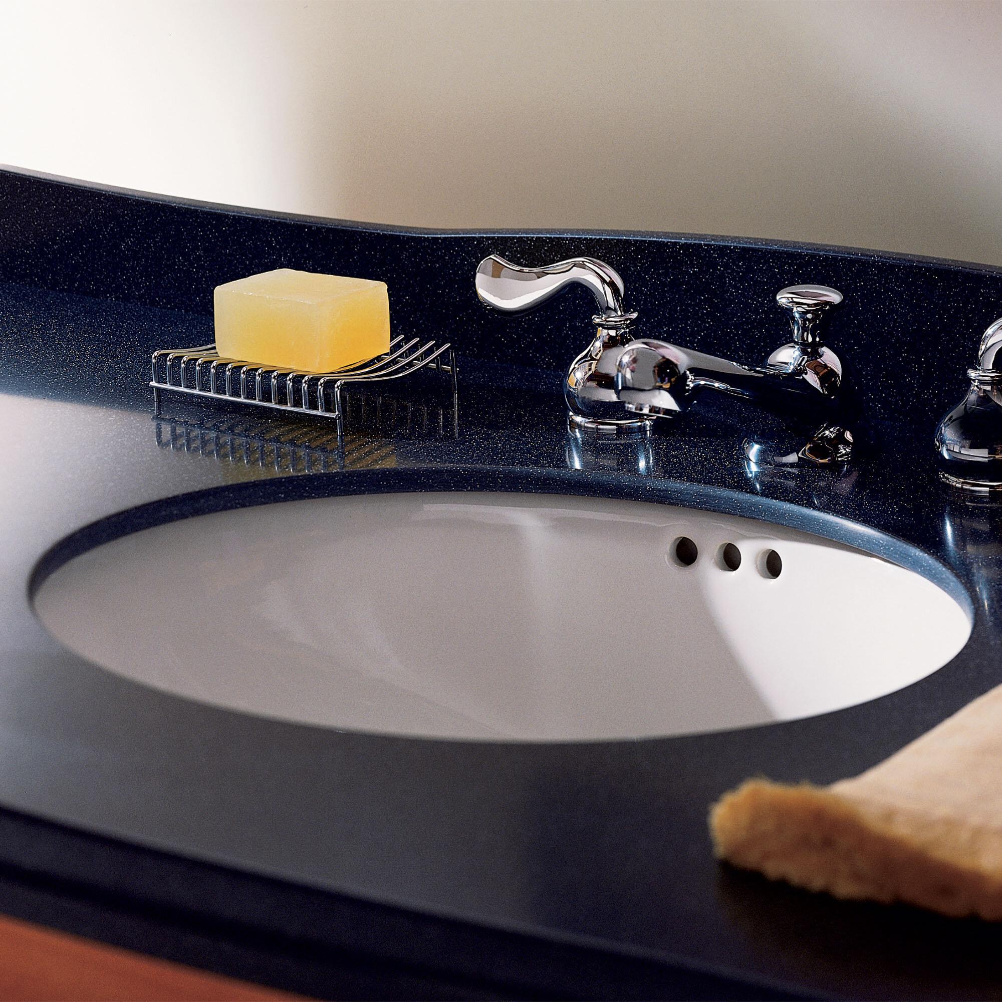 Incroyable Ovalyn Ceramic Oval Undermount Bathroom Sink With Overflow