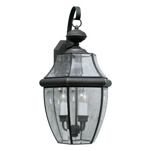 Charlton Home Garret 2-Light LED Outdoor Wall Lantern