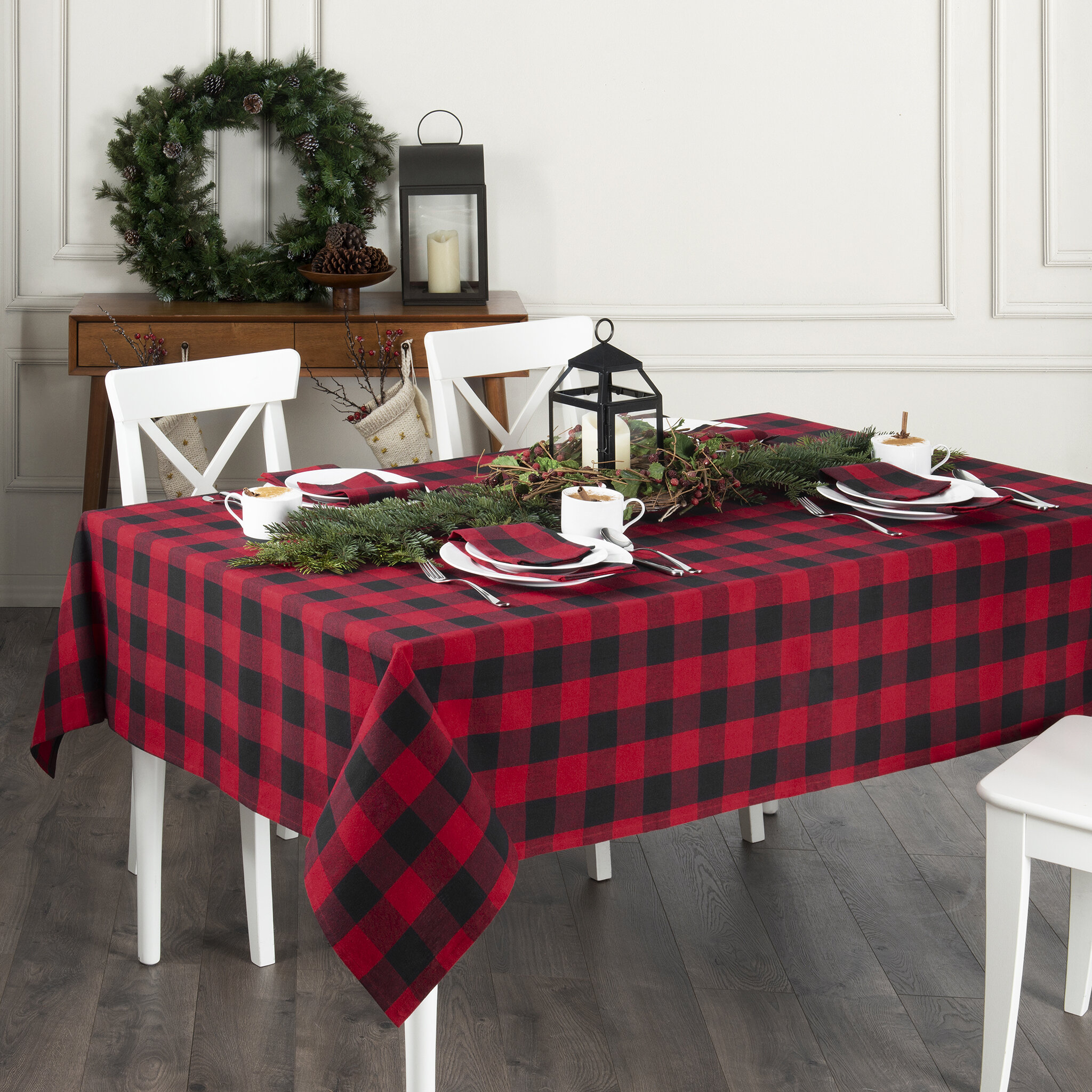 Christmas Tablecloth Table Linens You Ll Love In 2020