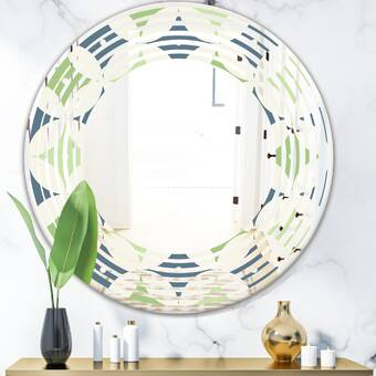East Urban Home Witch Sketch Texture Wall Mirror Wayfair