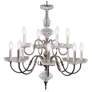 Astoria Grand Bagwell 12-Light Chandelier