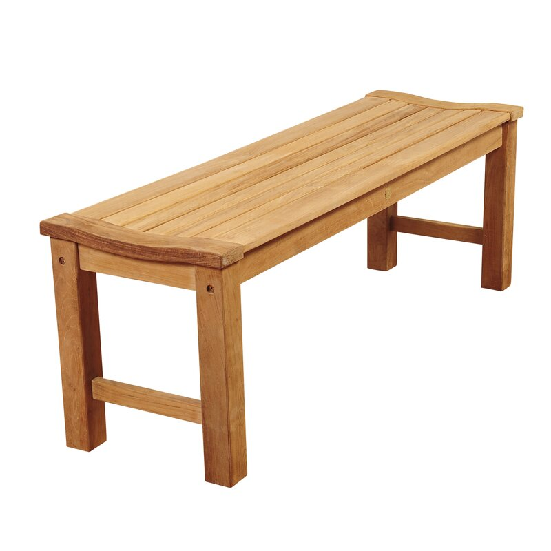 Beachcrest Home Elsmere Teak Picnic Bench Reviews Wayfair - Teak picnic table and benches