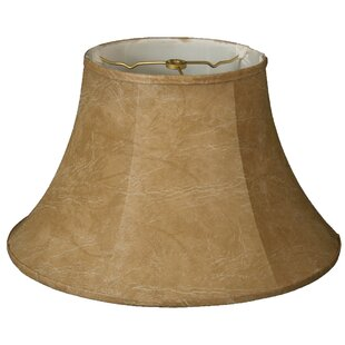 Compare prices 18 Faux Leather Bell Lamp Shade By Alcott Hill