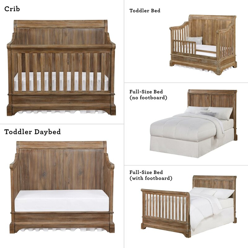 Pembrooke 5 In 1 Convertible Crib