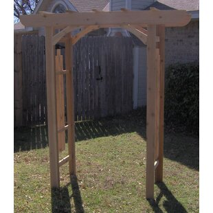 Threeman Products Country Cedar Wood Arbor