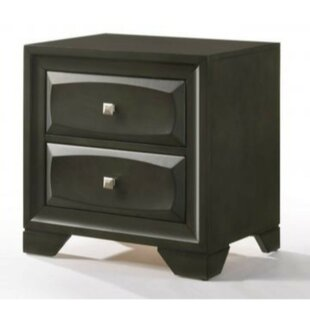 Rittman 2 Drawer Nightstand
