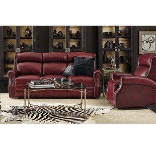Carlisle Reclining Leather Configurable Living Room Set Hooker Furniture