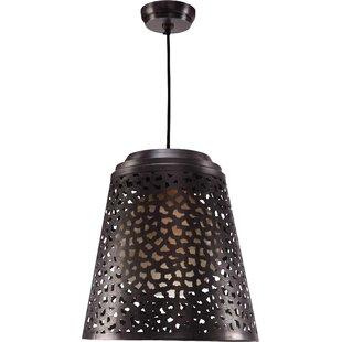 Wildon Home ® Tunis 1-Light Cone Pendant