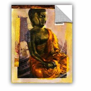 Wall Tattoo Smile Buddha Spells Living Room Bedroom Hallway Sticker uss358