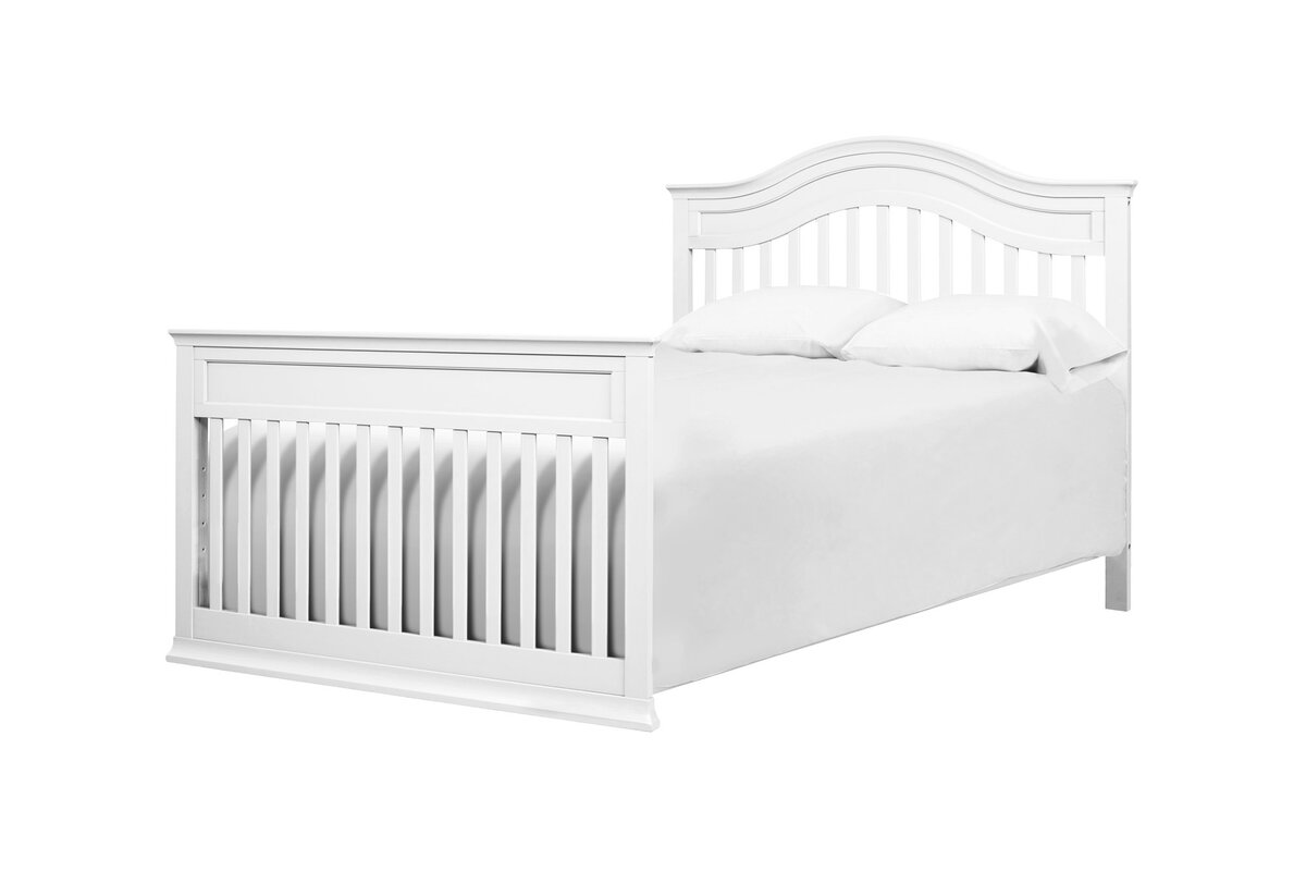 children toddler products emerson grey crib in angled delta bed angle
