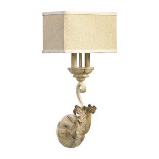Price Check Guyette 2-Light Wall Sconce with Shade By Lark Manor