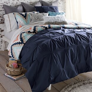 Blissliving Home Harper 3 Piece Reversible Duvet Cover Set