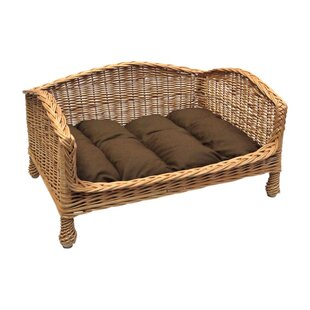 Cat Basket Bed Settee by Prestige Wicker