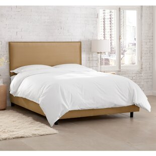 Dolloff Upholstered Panel Bed by Brayden Studio