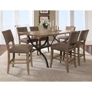 Hillsdale Furniture Charleston 7 Piece Counter Height Dining Set