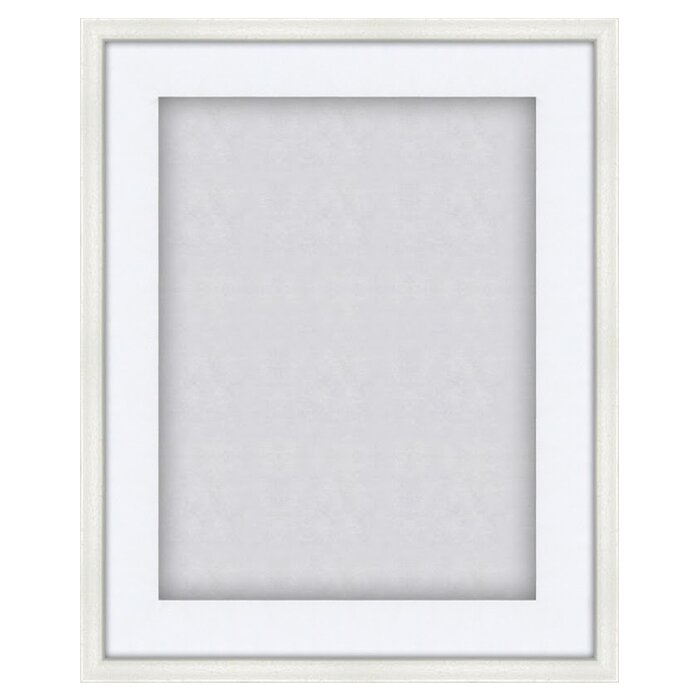 shadow box display case picture frame - White Shadow Box Frame