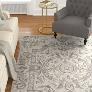 Lendella Hand Tufted Smoke Area Rug by Astoria Grand