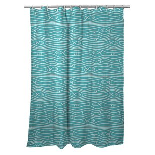 Christofer Single Shower Curtain by Highland Dunes Savings