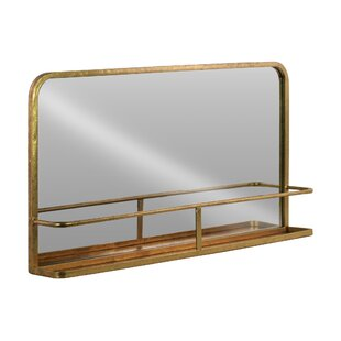 Framed Mirror With Shelf Wayfair