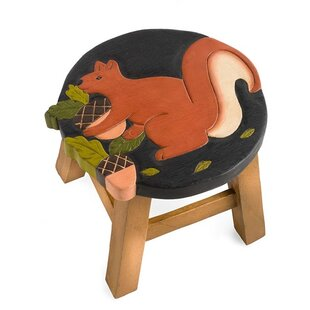 Plow & Hearth Squirrel Accent Stool