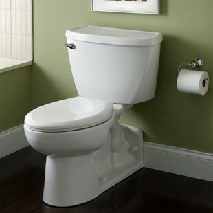 Bargain Yorkville Pressure Assisted 1.6 GPF Elongated Two-Piece Toilet (Seat Not Included) By American Standard