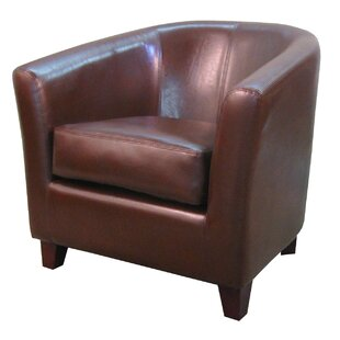 Teesha Solid Barrel Chair by Orren Ellis