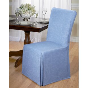 Cotton Dining Chair Slipcover