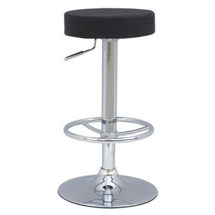 Fine Mod Imports Ex Adjustable Height Swivel Bar Stool