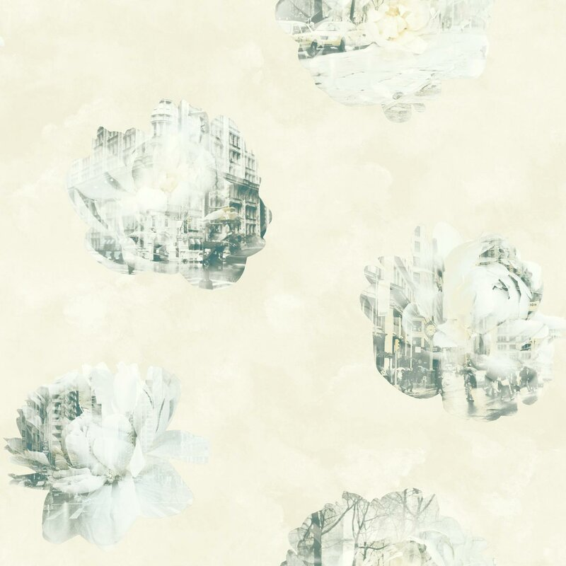 "York Wallcoverings Risky Business 2 Double Exposure Removable 33' x 20.5"" Wallpaper Roll & Reviews 