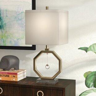 Leila Octagonal 38 Table Lamp
