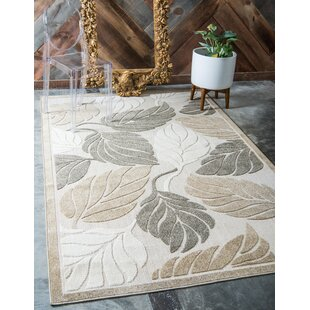 Brimfield Beige Indoor/Outdoor Area Rug