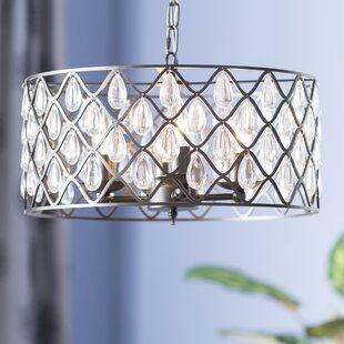 Lark Manor Castelnaud 4-Light Pendant