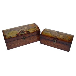 2 Piece Wood Box Set ByAlcott Hill