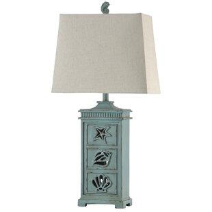 Coastal table lamps joss main jaycee coastal 33 table lamp mozeypictures Images