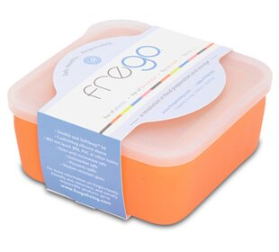Glass and Silicone Toxin-free 20 Oz. Food Storage Container