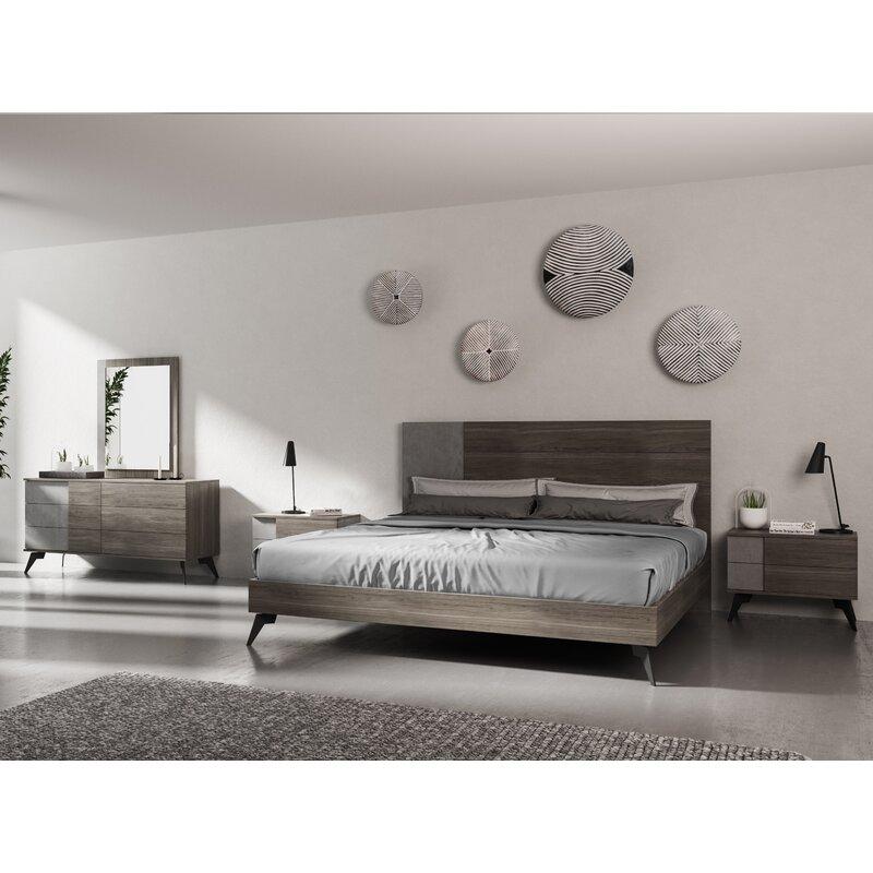 Ivy Bronx Bayport Modern Platform 5 Piece Bedroom Set Wayfair