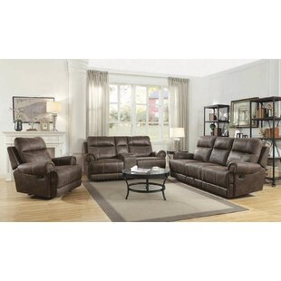 Oldbury Naite Motion 3 Piece Living Room Set by Red Barrel Studio