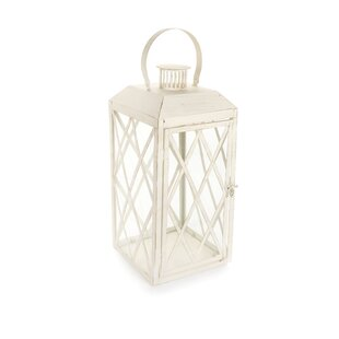 Ophelia & Co. Metal Lantern with Sturdy Ring and Vented Roof
