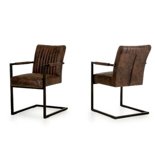 Orna Arm Chair (Set of 2) by Gracie Oaks