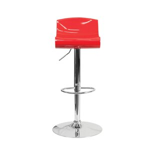 Ebern Designs Arlington Adjustable Height Swivel Bar Stool